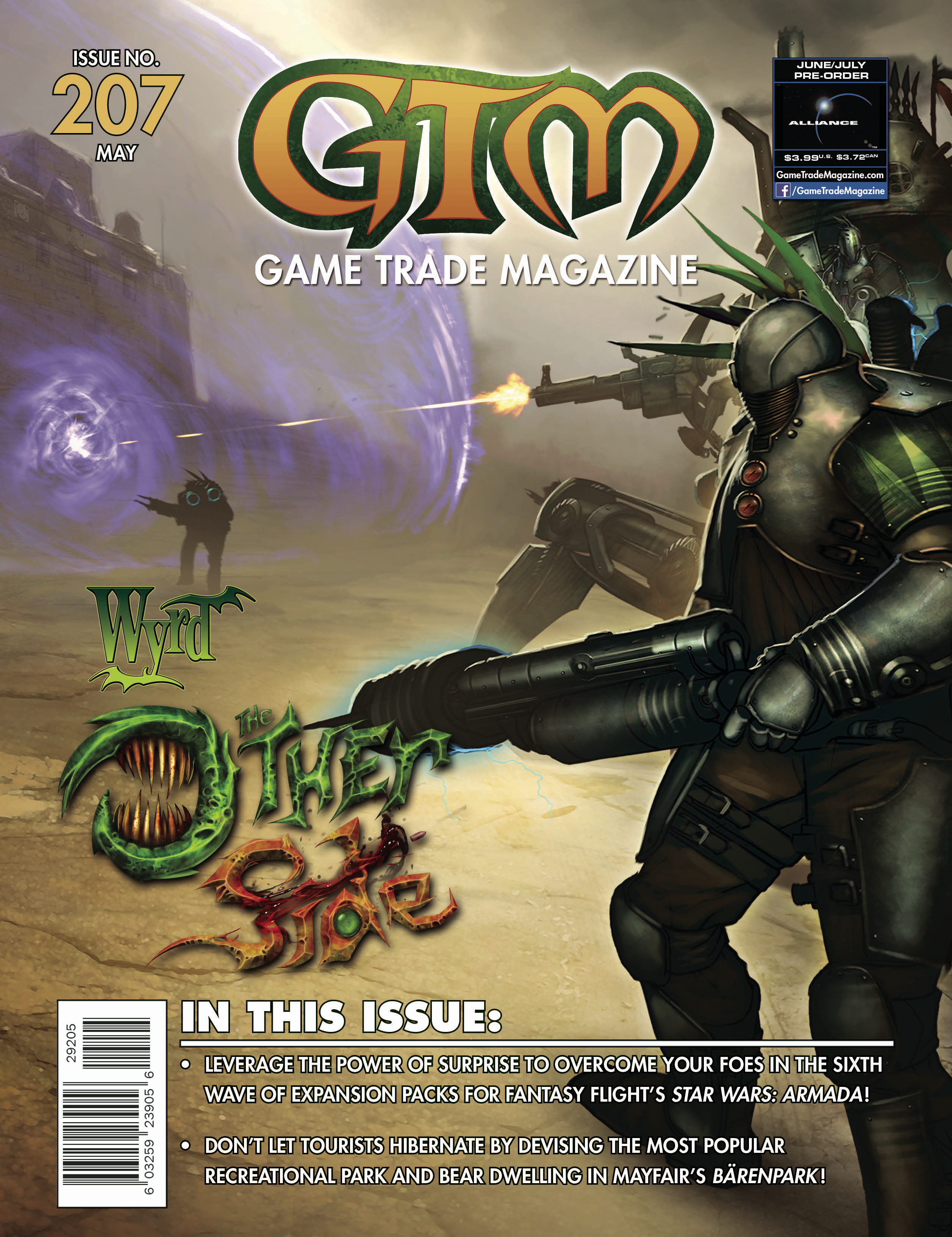 Game Trade Magazine #207 Sale Copy