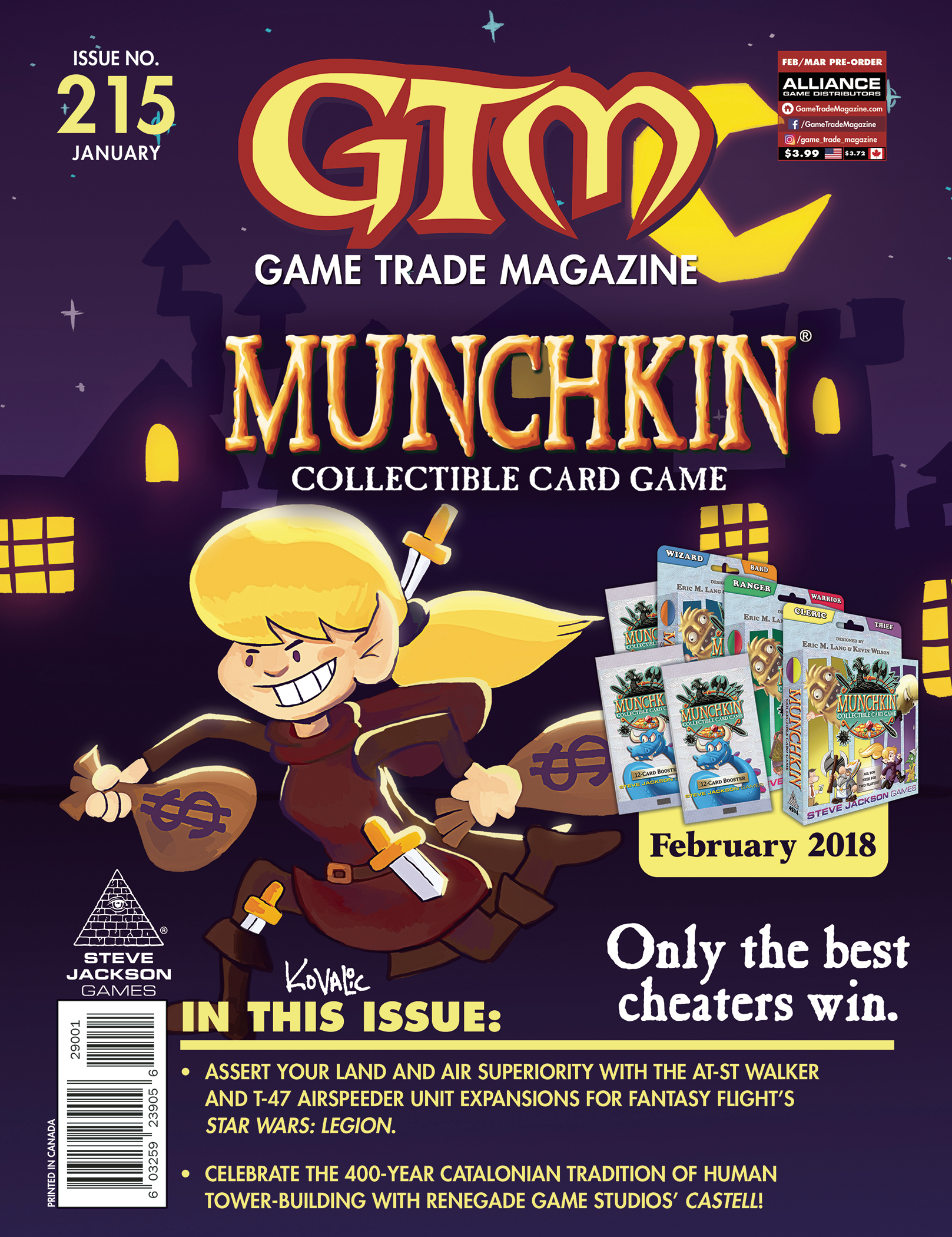 Game Trade Magazine #215 Sale Copy