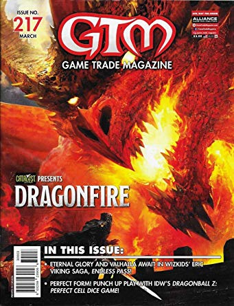 Game Trade Magazine #217 Sale Copy