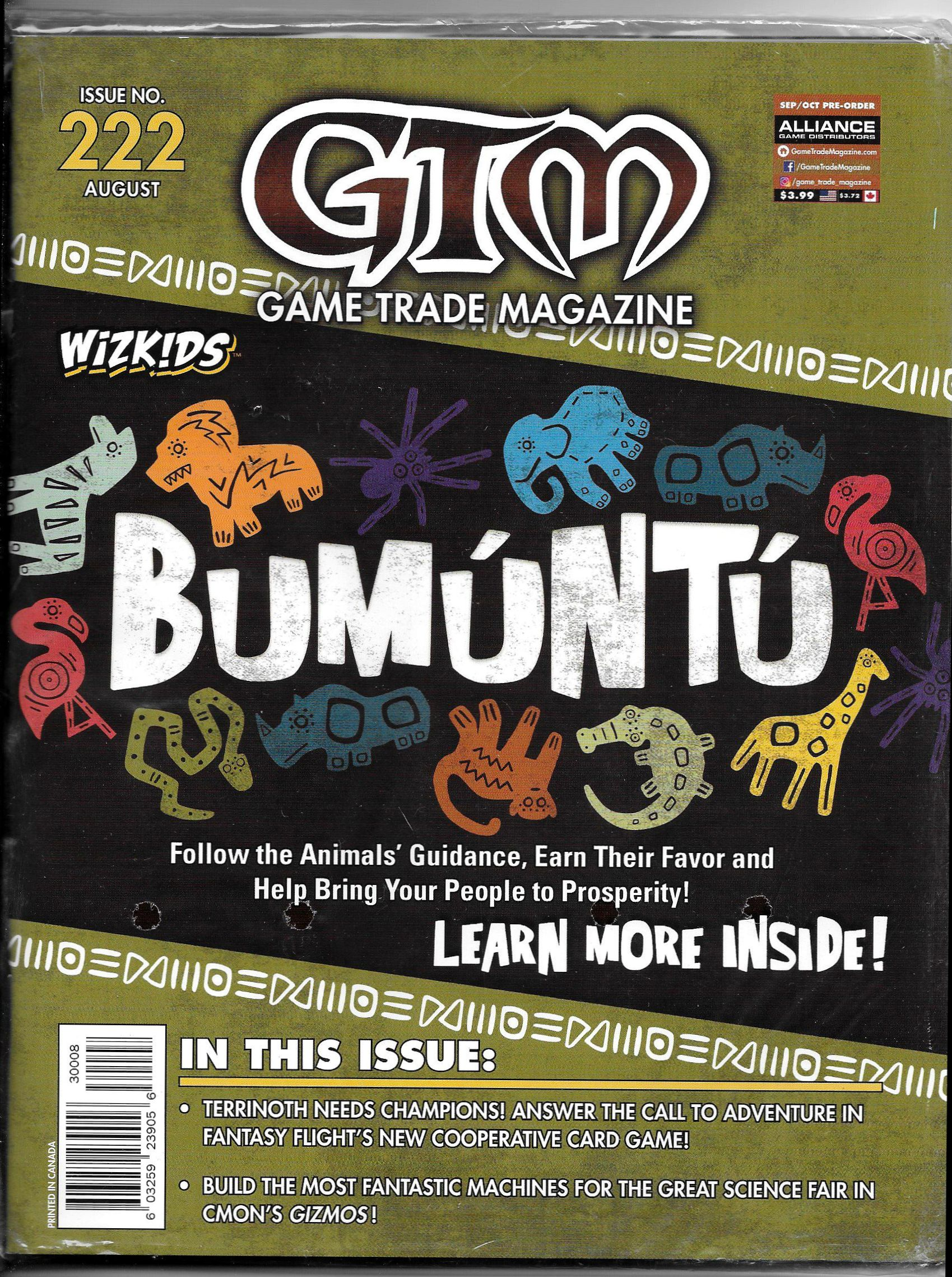 Game Trade Magazine #222 Sale Copy