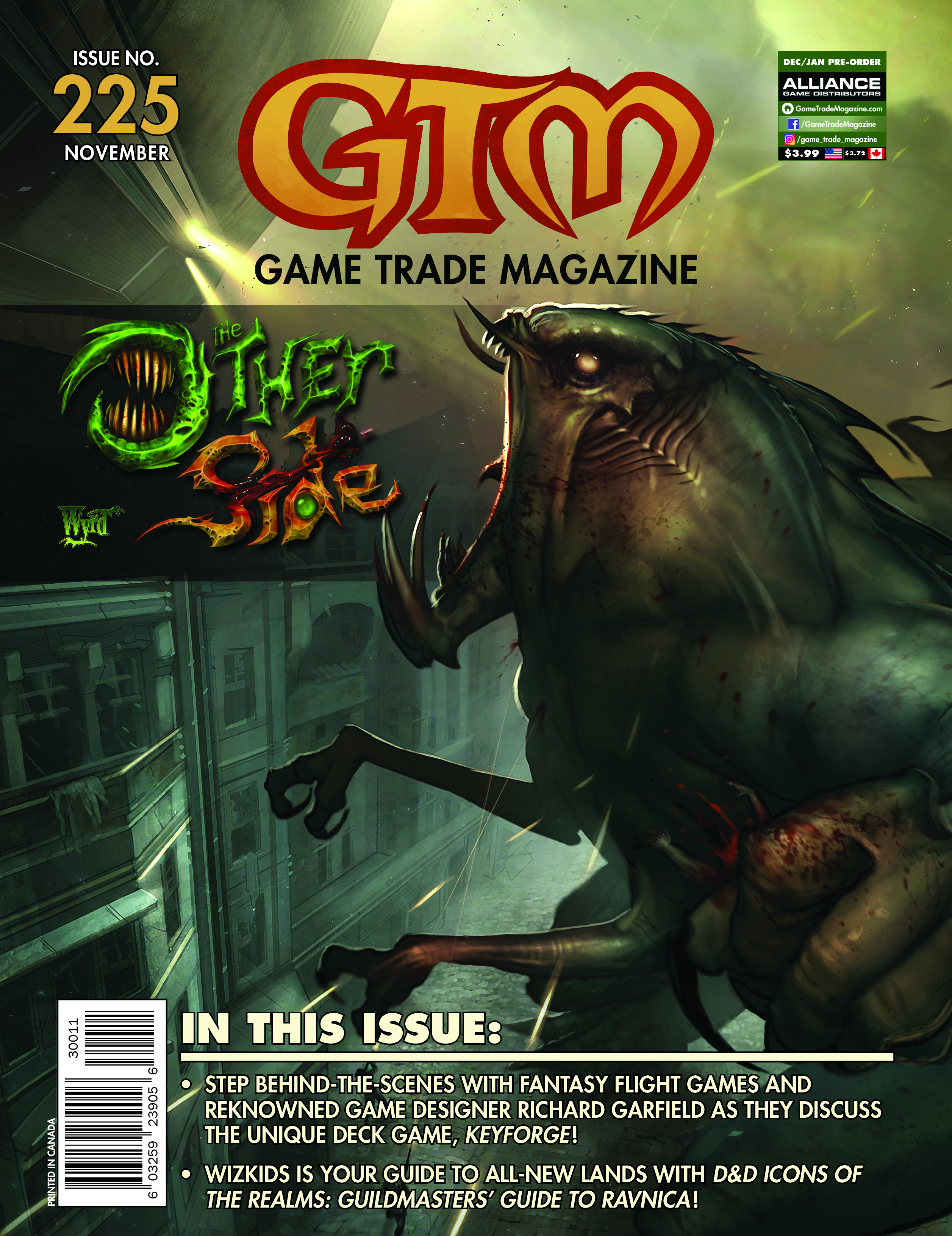 Game Trade Magazine #225 Game Box