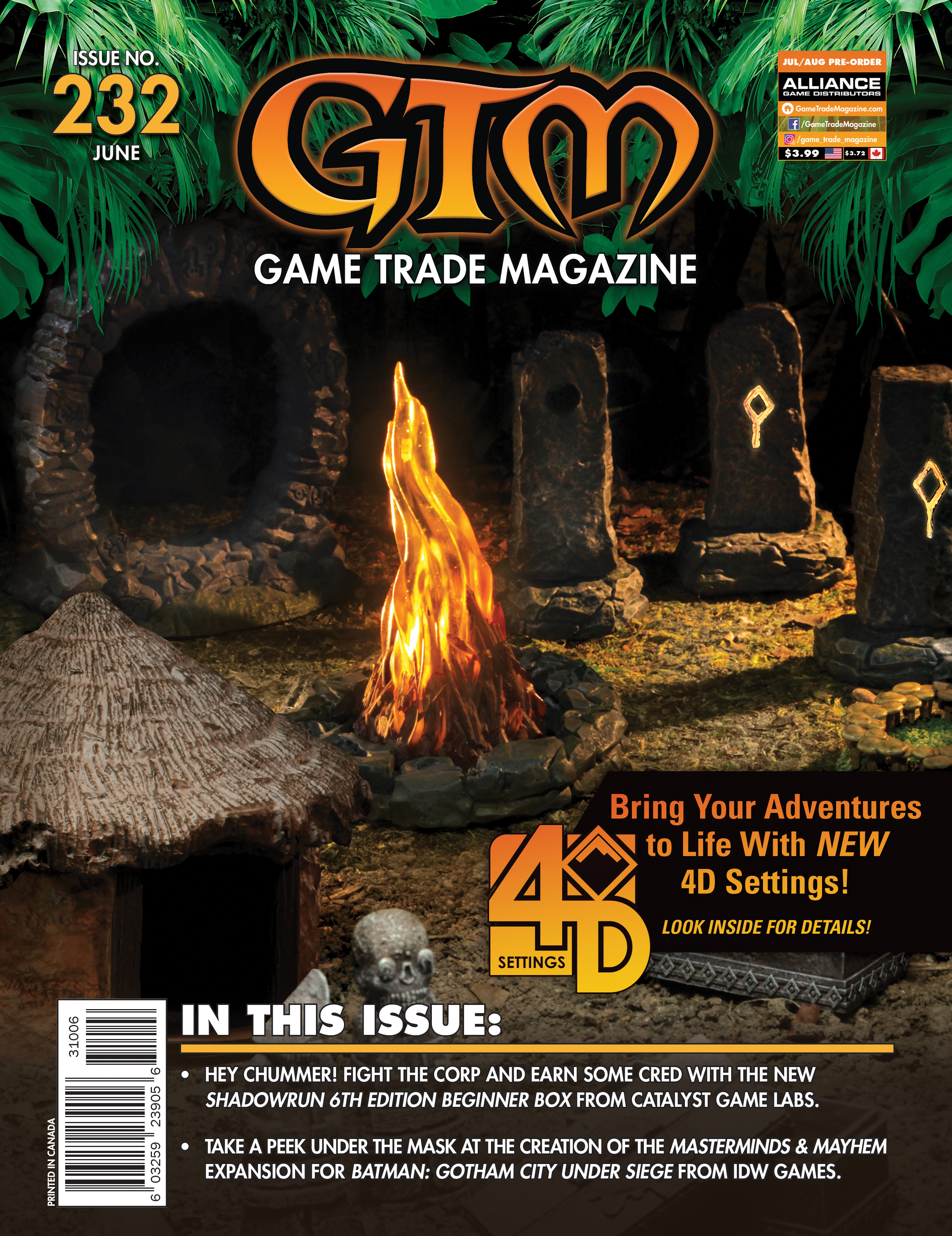 Game Trade Magazine #232 Game Box