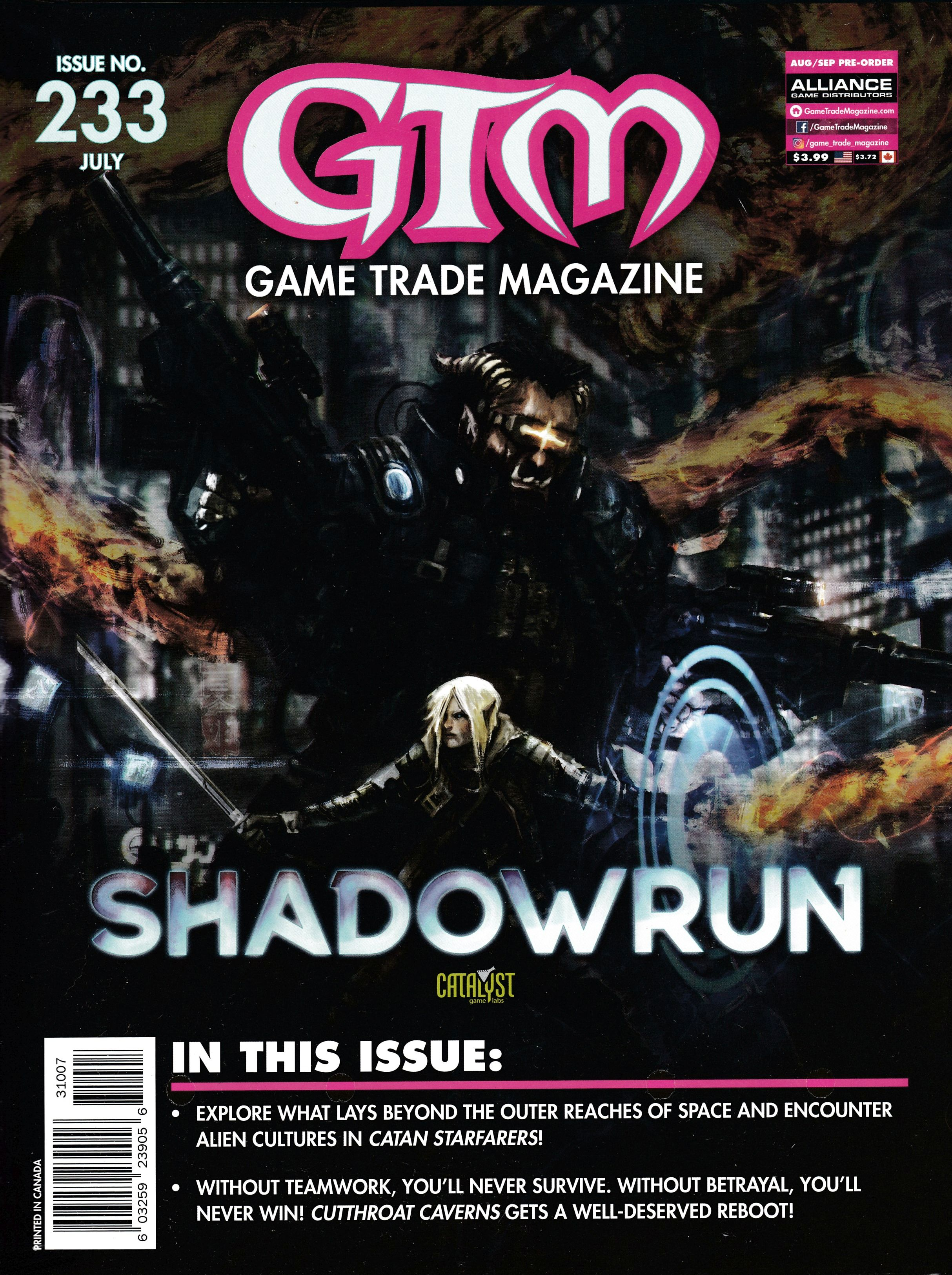 Game Trade Magazine #233 Sale Copy