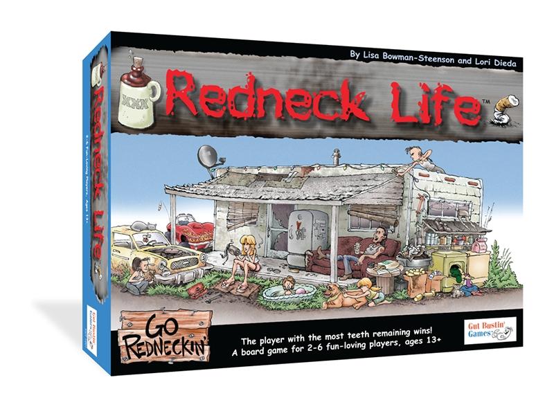 Redneck Life Box Front