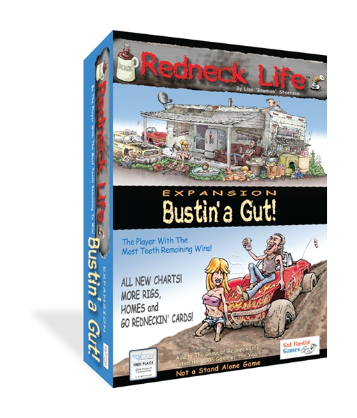 Redneck Life: Bustin A Gut Expansion Box Front