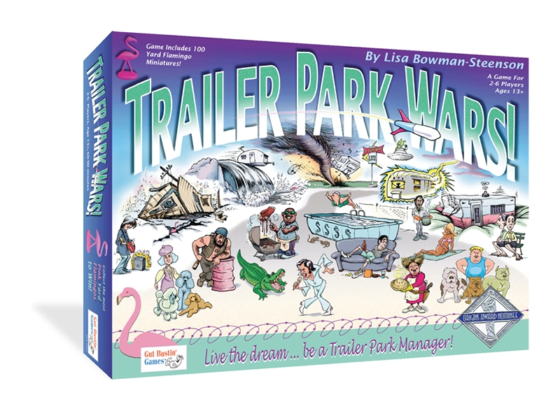 Trailer Park Wars! Box Front
