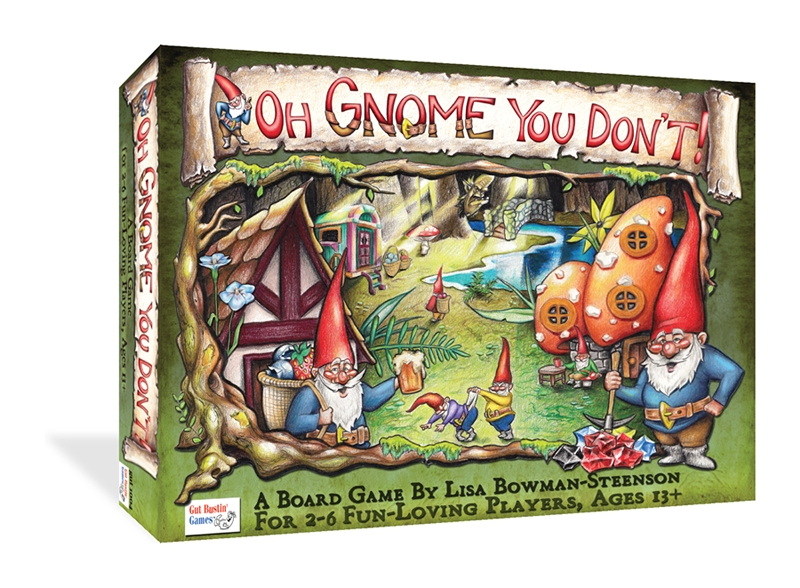 Oh Gnome You Dont! Box Front