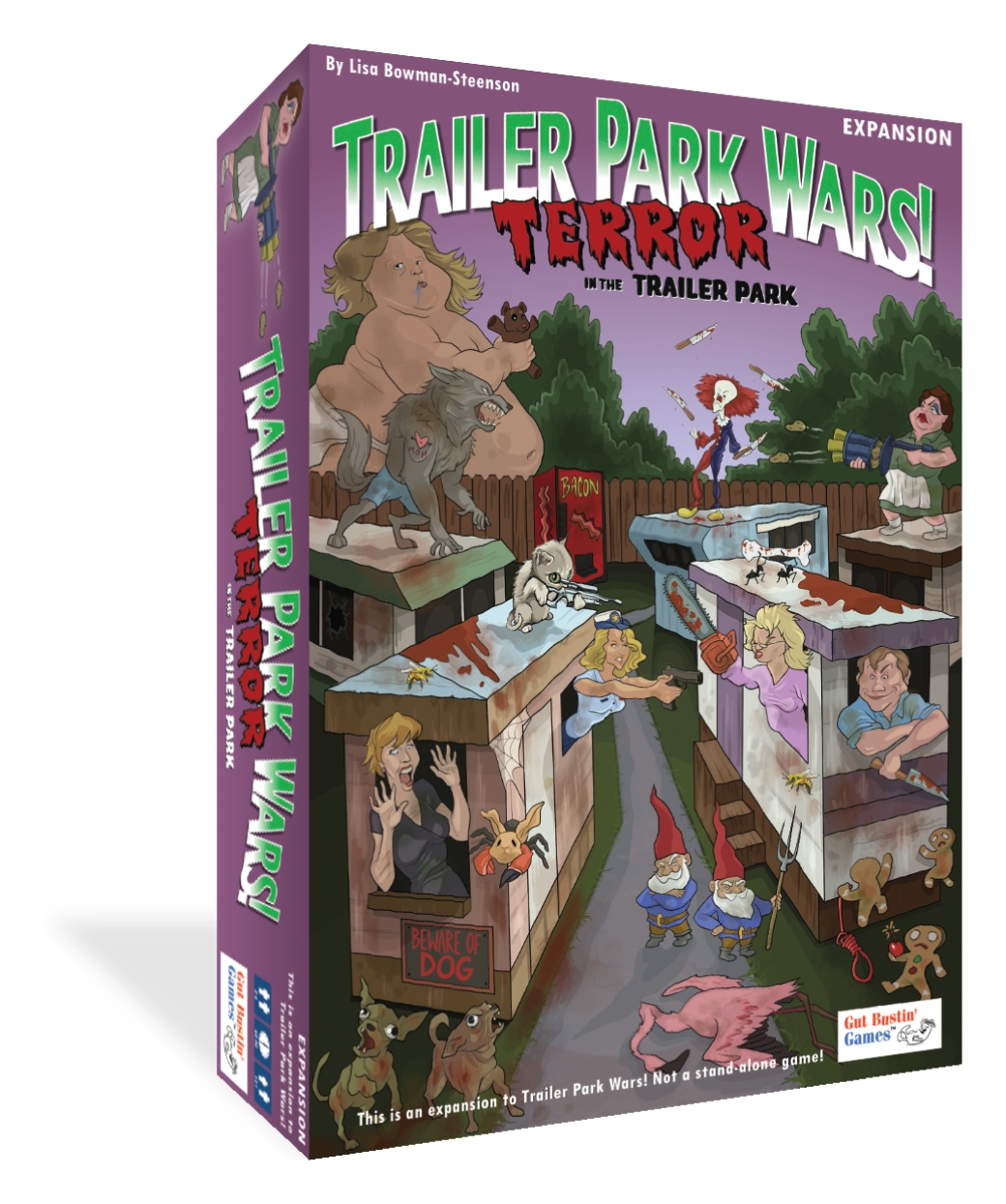 Trailer Park Wars!: Terror In The Trailer Park Expansion Box Front