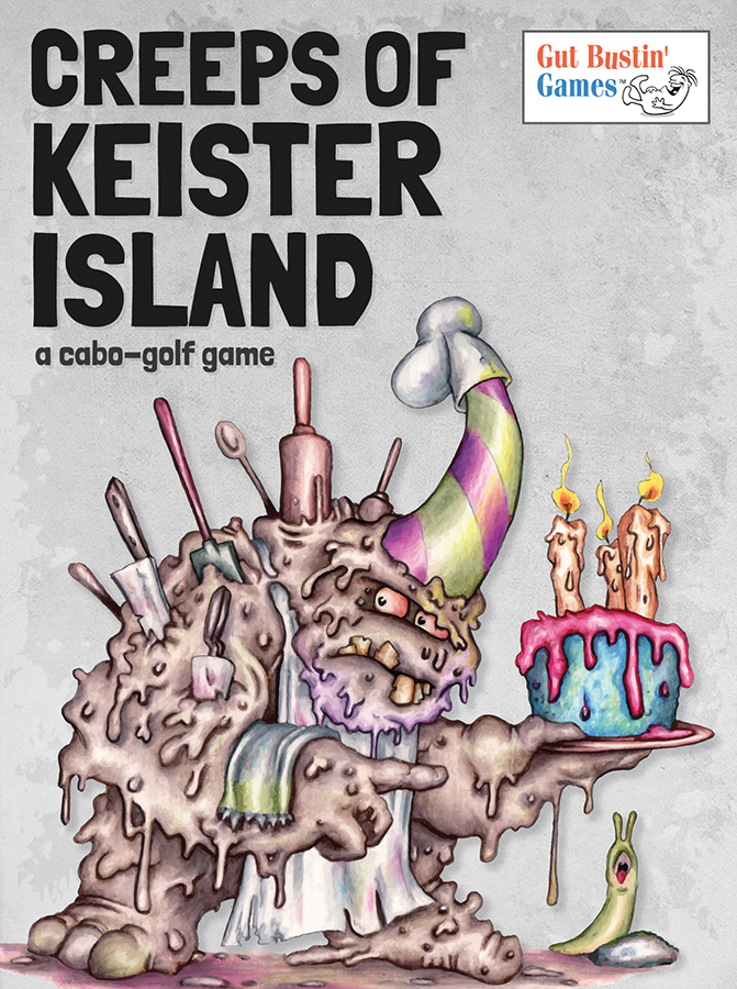 Creeps Of Keister Island Card Game Box Front