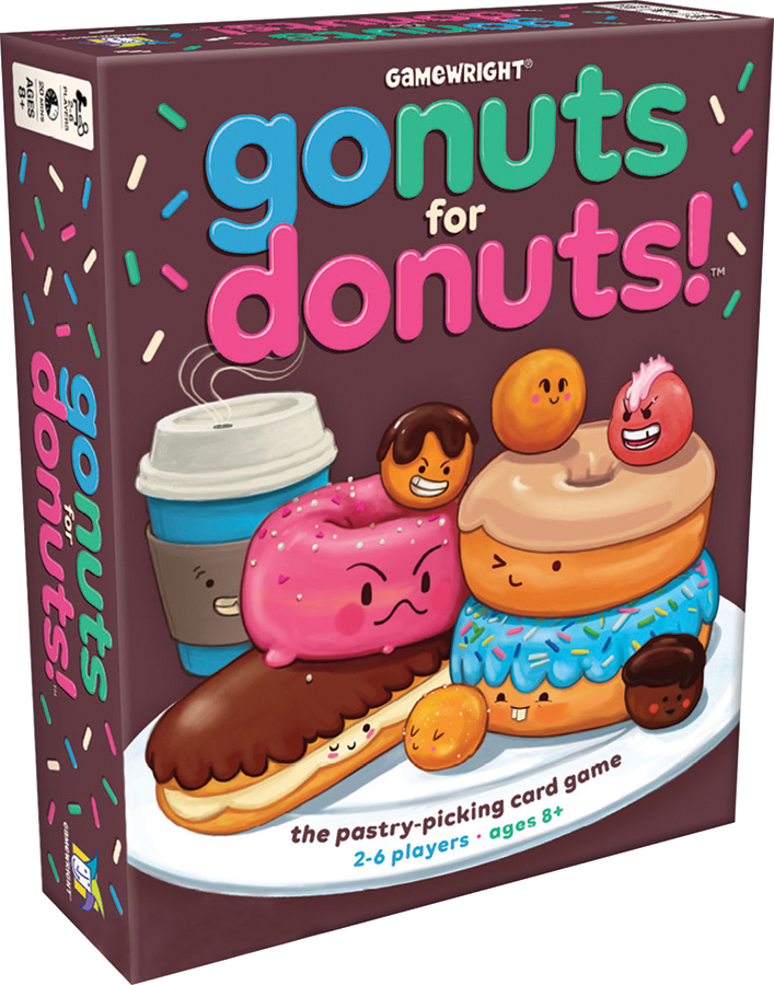 Go Nuts For Donuts Box Front