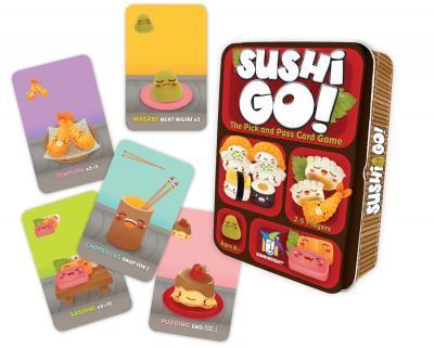Sushi Go! Box Front