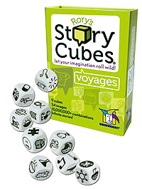 Rorys Story Cubes: Voyages Box Front