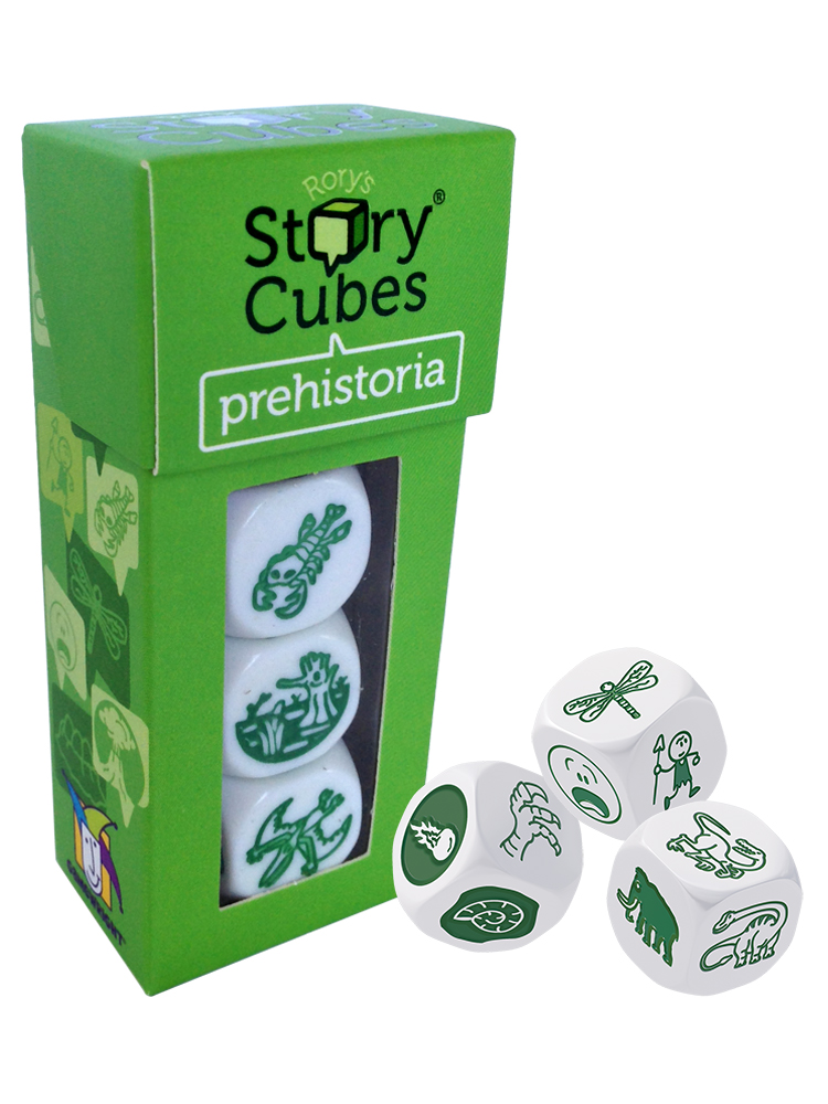 Rorys Story Cubes: Prehistoria Box Front