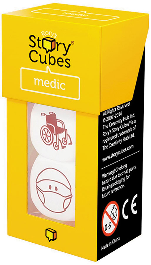 Rorys Story Cubes: Medic Box Front