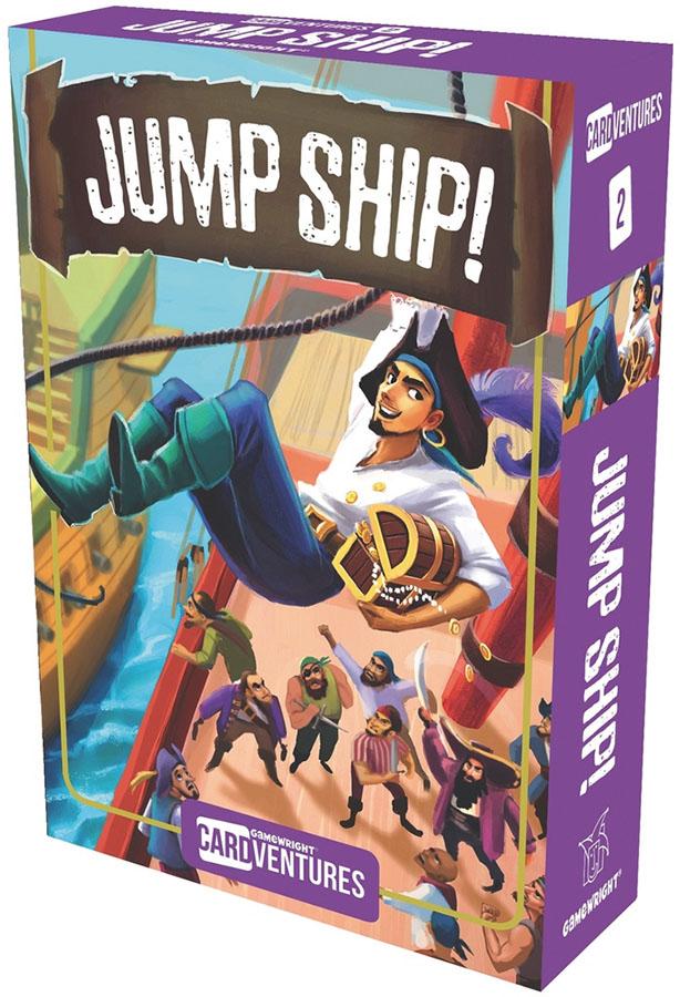 Jump Ship! Box Front