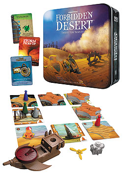 Forbidden Desert: Thirst For Survival Box Front