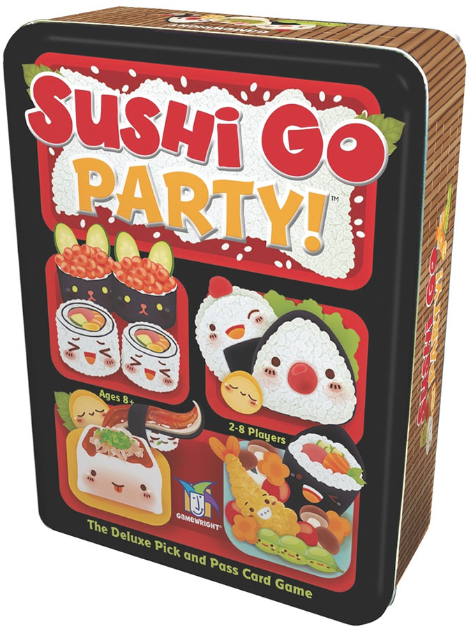 Sushi Go Party! Box Front