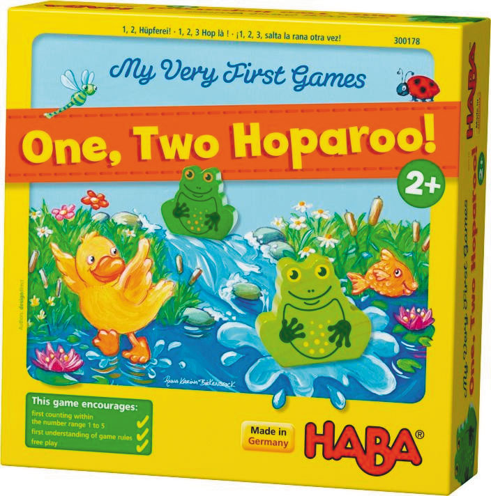 My Very First Games: One Two Hoparoo Box Front