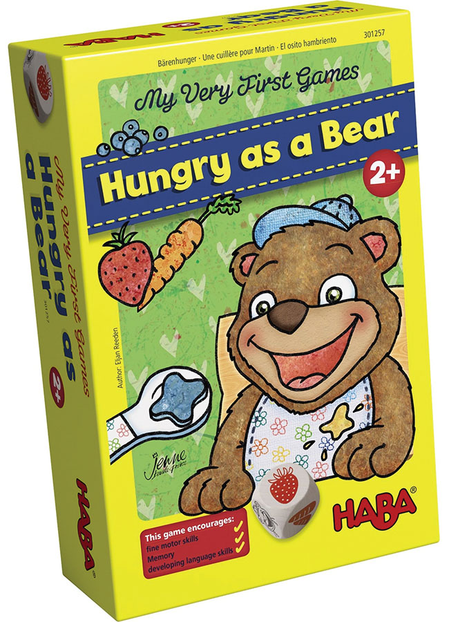 My Very First Games: Hungry As A Bear Box Front