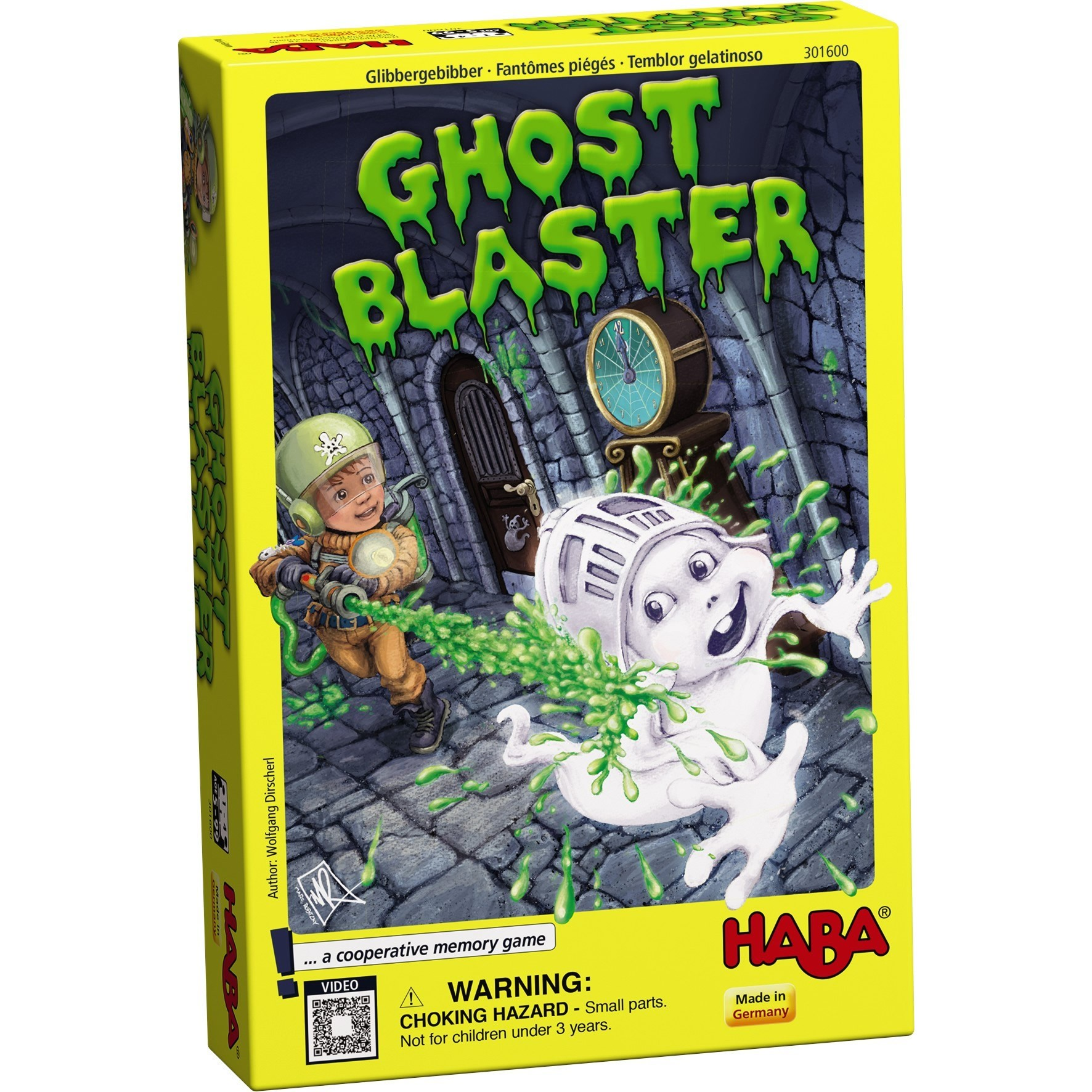 Ghost Blaster Box Front