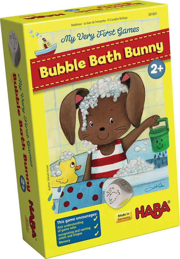 My Very First Games: Bubble Bath Bunny Box Front