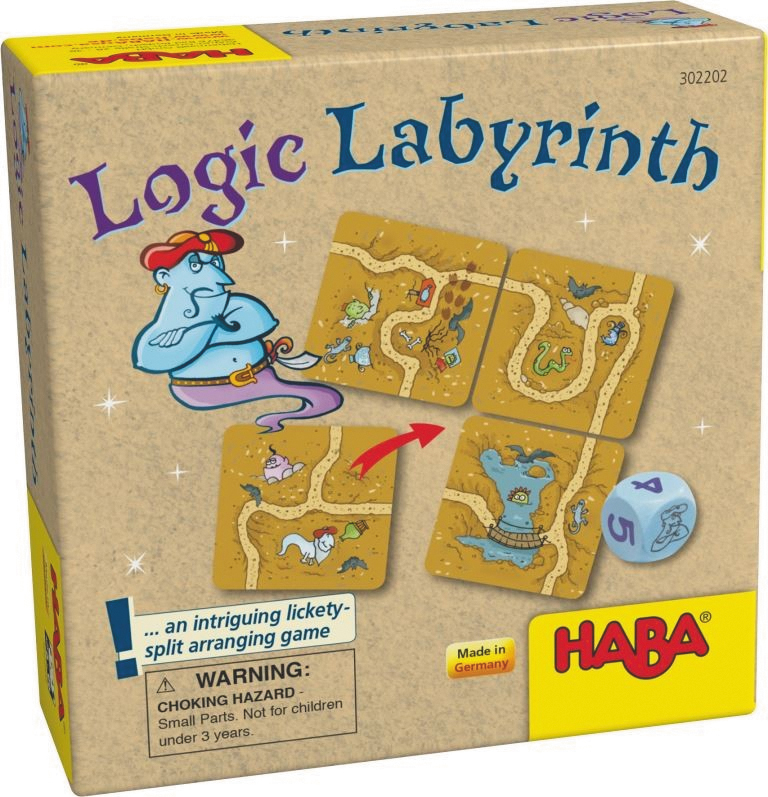 Logic Labyrinth Box Front