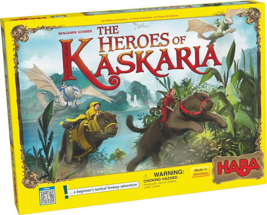 Heroes Of Kaskaria Box Front