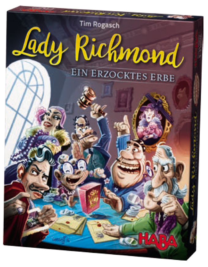 Lady Richmond: Fast Fight For Inheritance Box Front