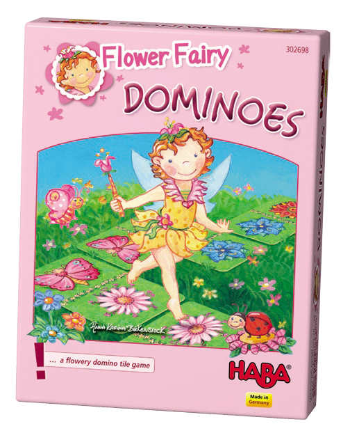 Flower Fairy Dominoes Box Front