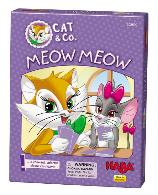 Cat & Co: Meow Meow Box Front
