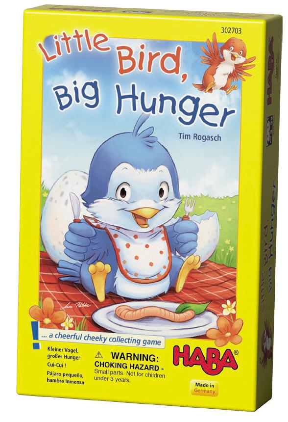 Little Bird Big Hunger Box Front
