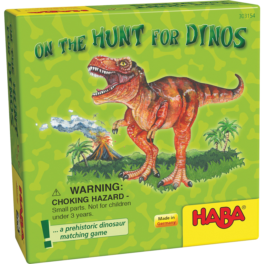 On The Hunt For Dinos Box Front
