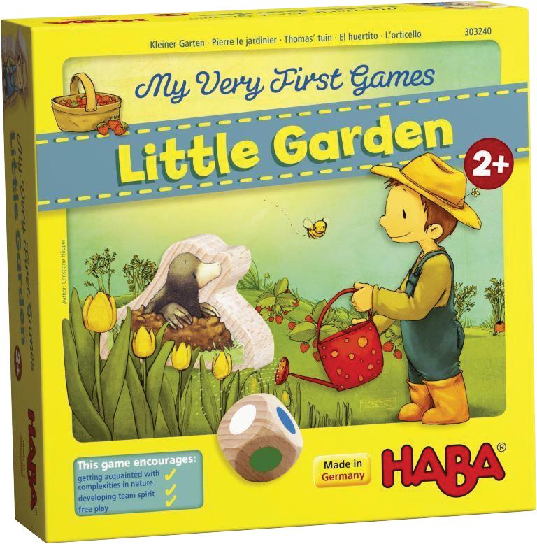 My Very First Games: Little Garden Box Front