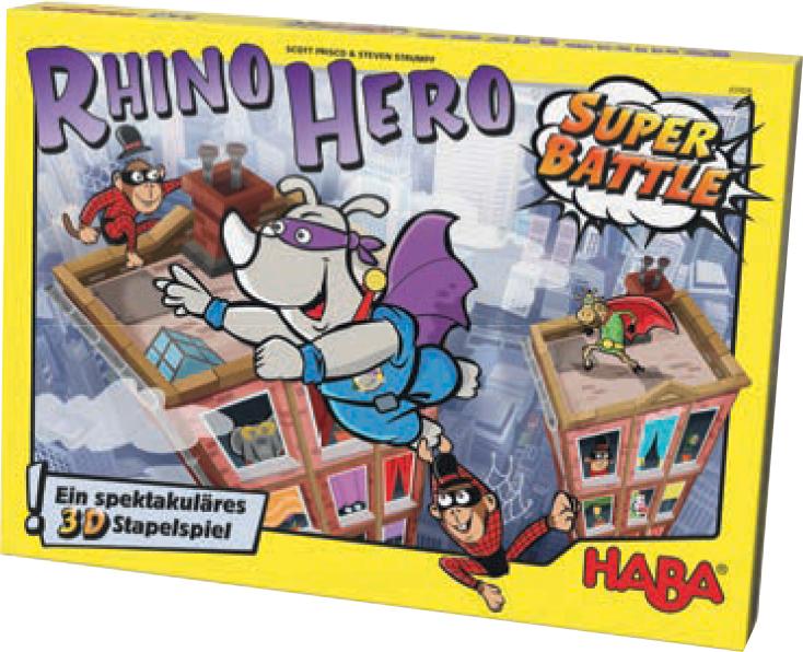 Rhino Hero Super Battle Box Front