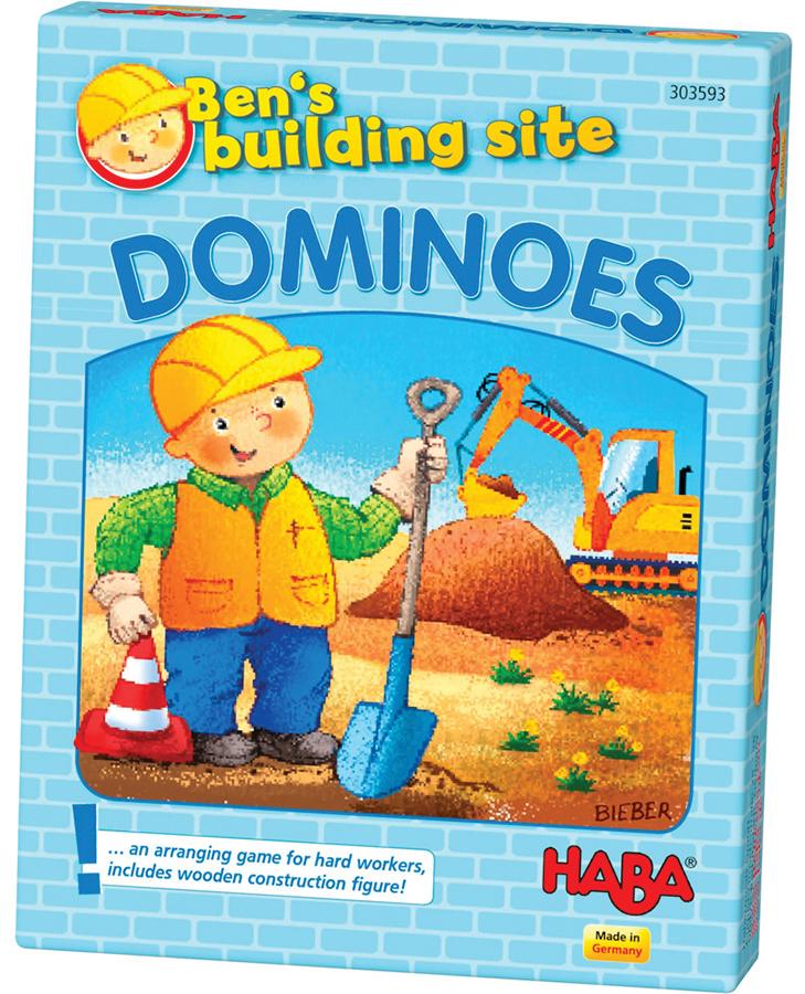 Ben`s Building Site Dominoes Box Front