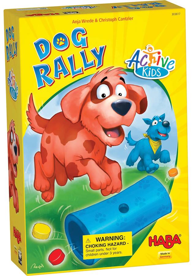 Dog Rally Active Kids Box Front