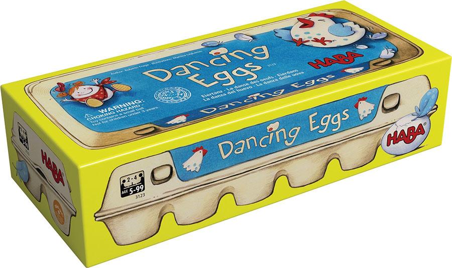 Dancing Eggs Box Front
