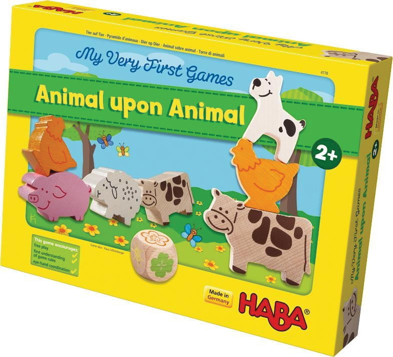 My Very First Games: Animal Upon Animal Box Front