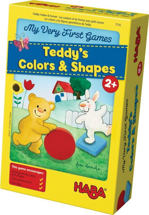 My Very First Games: Teddy`s Colors And Shapes Box Front