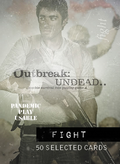 Outbreak Undead Rpg: Fight Deck Box Front