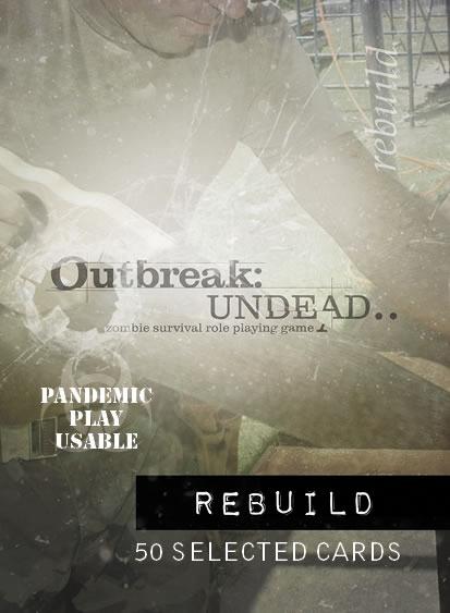 Outbreak Undead Rpg: Rebuild Deck Box Front