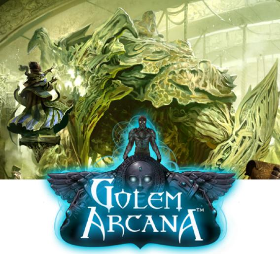 Golem Arcana Base Game Set Box Front