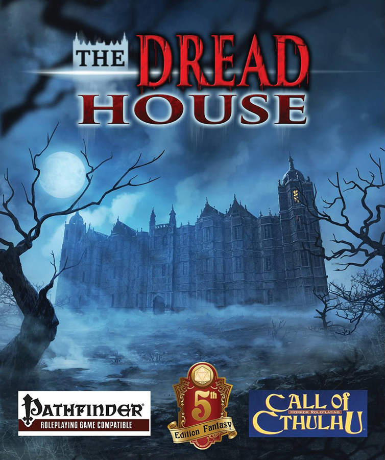 The Dread House Rpg Hardcover Box Front