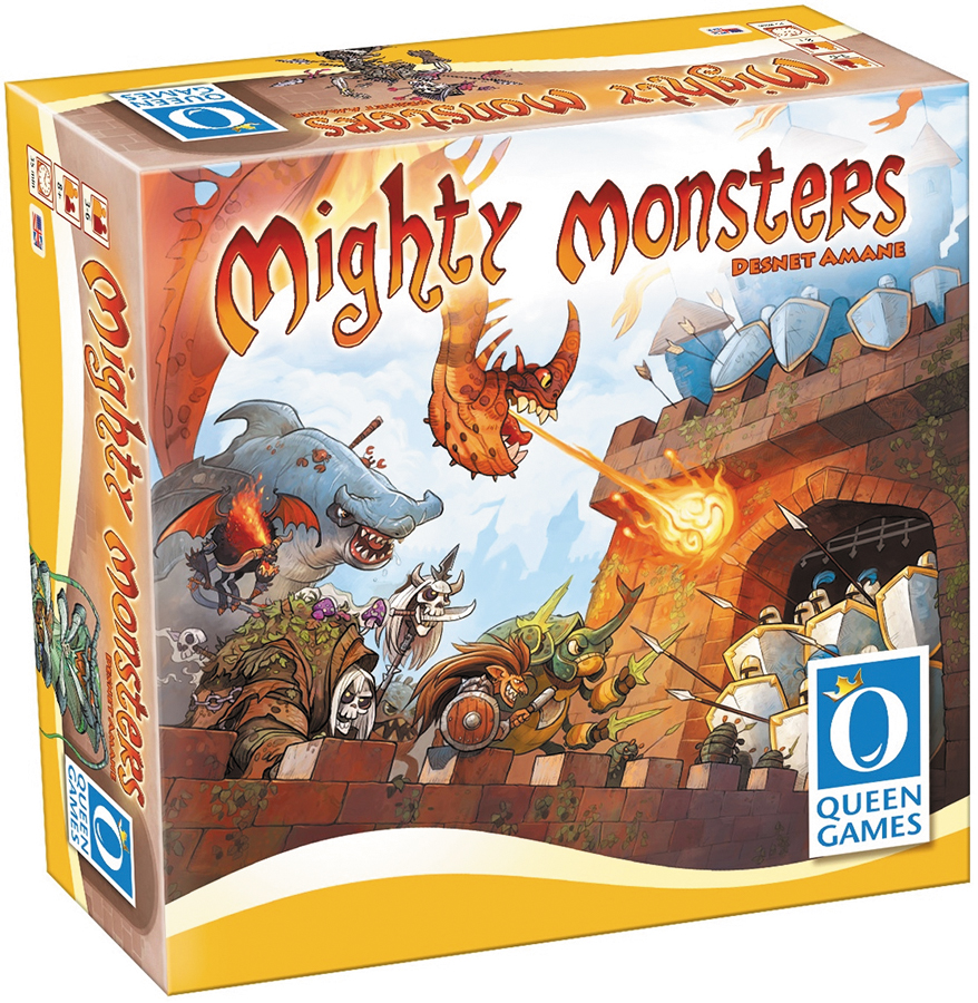Mighty Monsters Box Front