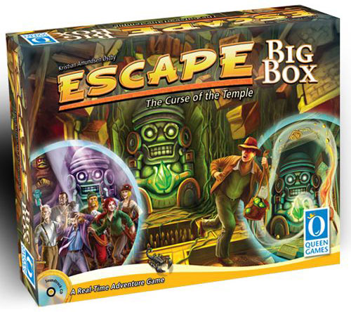 Escape: The Curse Of The Temple Big Box 2nd Edition Box Front