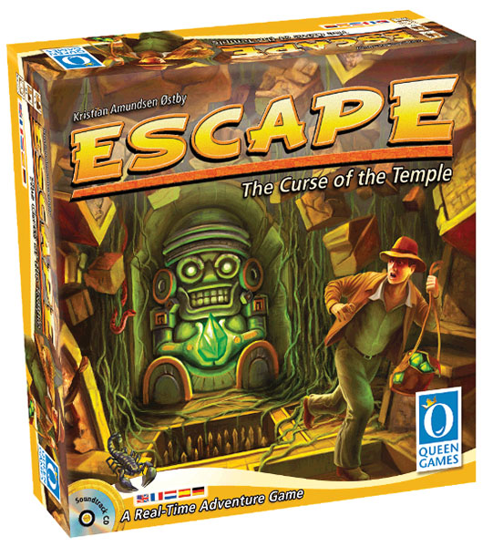 Escape: The Curse Of The Temple Box Front