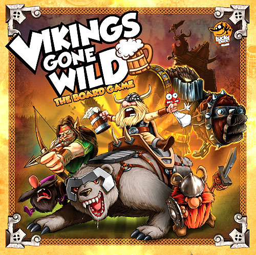 Vikings Gone Wild: The Board Game Box Front