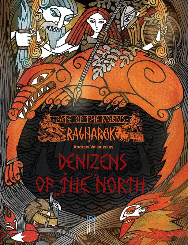 Fate Of The Norns Rpg: Ragnarok Denizens Of The North Hc Box Front