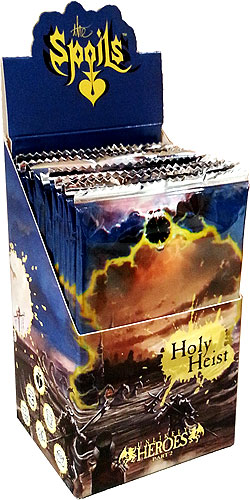 The Spoils Tcg: Holy Heist Booster Display (12) Box Front