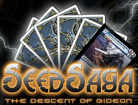 The Spoils Tcg: Seed Saga, The Descent Of Gideon Booster Display (24) Box Front